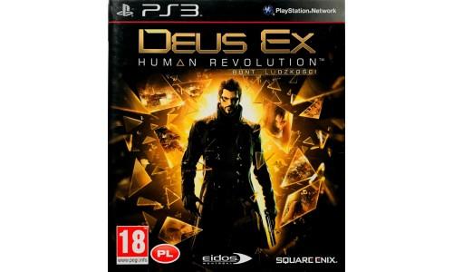 Deus Ex: Bunt Ludzkości ps3 playstation 3