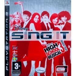 Disney Sing It singstar ps3 playstation 3
