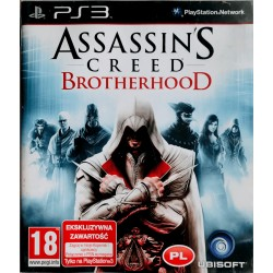 Assassin's Creed: Brotherhood ps3 playstation 3