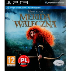 Merida waleczna move ps3 playstation 3