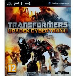 Transformers: Upadek Cybertronu ps3 playstation 3