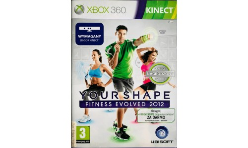 Your Shape: Fitness Evolved 2012 xbox 360