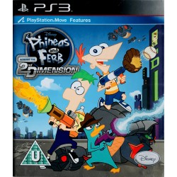 Phineas and Ferb Across 2nd Dimension ps3 playstation 3
