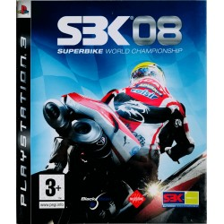 SBK 08 Superbike World Champions ps3 playstation 3