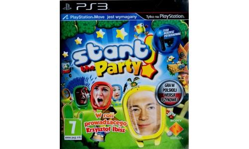 Start the party Playstation 3 ps3