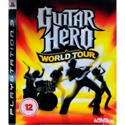 Guitar Hero: World Tour ps3 playstation 3