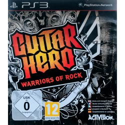 Guitar Hero: Warriors of Rock ps3 playstation 3