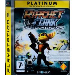 Ratchet Clank Future: Tools of Destruction ps3 playstation 3