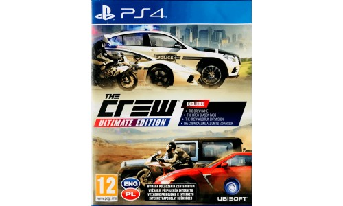 The Crew Ultimate Edition Ps4 PlayStation