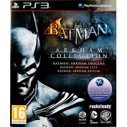 Batman Arkham Collection ps3 playstation 3
