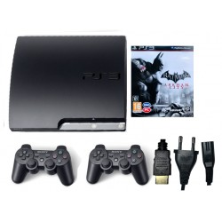 Konsola PS3 SLIM 2xPAD DYSK 320GB