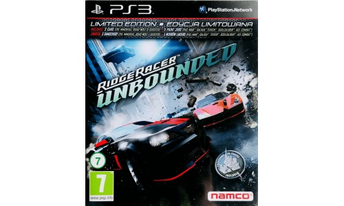 Ridgeracer Unbounded ps3 playstation 3