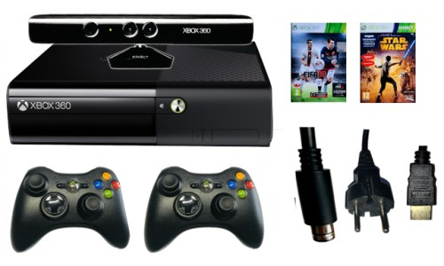 Xbox 360 E Kinect 2xPad Kinect Wersja SLIM 4gb