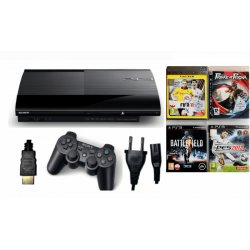 Konsola PS3 PLAYSTATION 3 SUPER SLIM 500gb pad gry