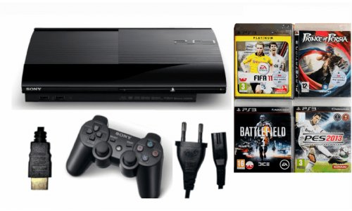 Konsola PS3 PLAYSTATION 3 SUPER SLIM 500gb pad gry