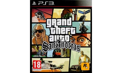 Grand Theft Auto San Andreas ps3 playstation 3