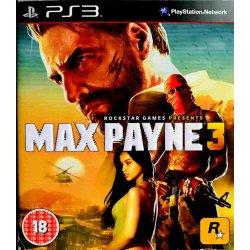 Max Payne 3 ps3 playstation 3
