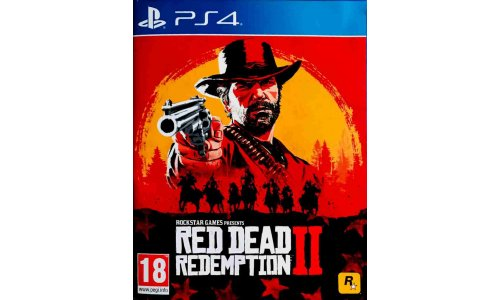 Red Dead Redempation 2 Ps4 Playstation 4