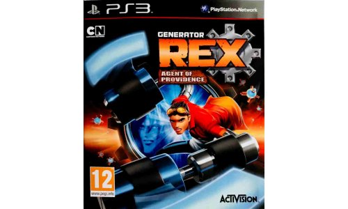 Generator REX Agent Of Providence ps3 playstation 3