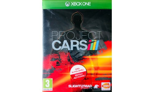 Project Cars 3 Xbox one Nowa Folia