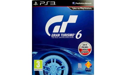 Gran turismo 6 [PL] ps3 playstation 3