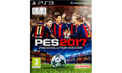 PES2017 ps3 playstation 3