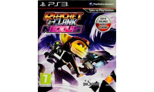 Ratchet Clank nexus ps3