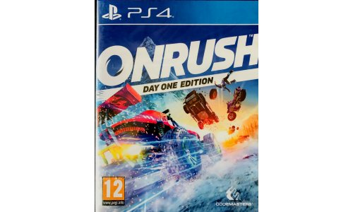 ONRUSH PS4 Playstation 4 NOWA FOLIA [PL]