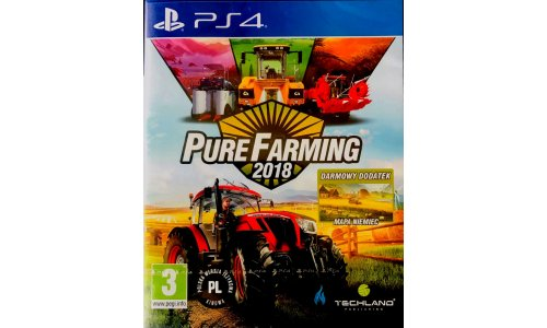 Pure Farming 2018 PS4 Playstation 4 NOWA FOLIA [PL]