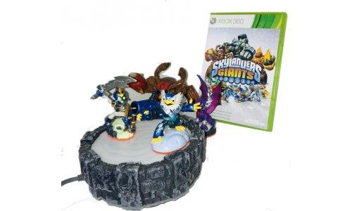 Skylanders GIANT GRA+PORTAL+Figurki Xbox 360