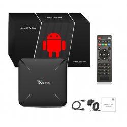 TX6 MINI 2+16GB ANDROID 9 SMART TV BOX PRZYSTAWKA