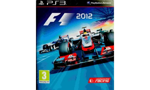 Formula 1 F1 2012 Playstation 3 ps3
