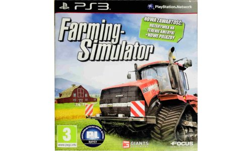 Farming Simulator ps3 Playstation 3