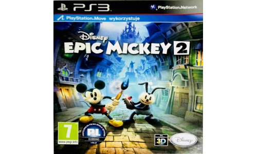 Epic Mickey 2 ps3 playstation 3