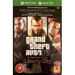Gta 4 THE COMPLETE EDITION Xbox 360 XBOX ONE