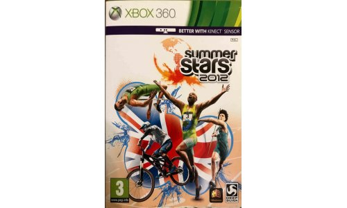 Summer Stars 2012 xbox 360 zrecznosciowa