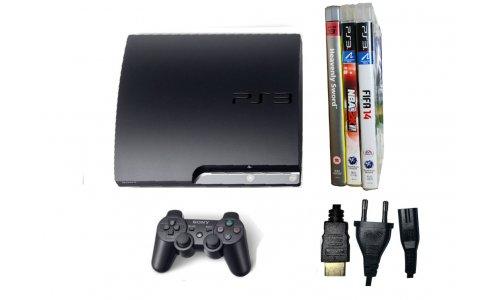 Konsola PS3 SLIM PAD GRY
