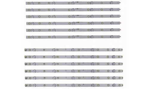 Podswietlenie LISTWY LED 55PUS7303 55PUS6703 LB55073 V1_02 V0_01 TPT550U1-QVN05.U