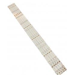Listwy led 5 listw 10 LED Philips 43PFT4131 43PFS5301 GJ-2K16-430-D510 GJ-2K16-430-D510-V4 01Q58-A