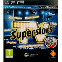 Superstars tv ps3 playstation 3
