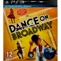Dance on broadway ps3 playstation 3 move