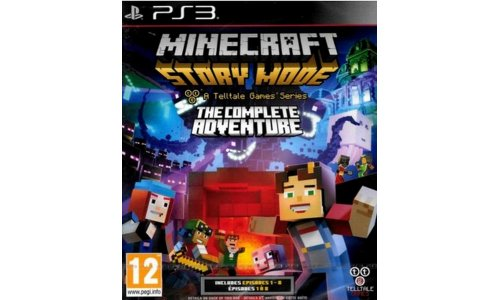 Minecraft story mode ps3 playstation 3
