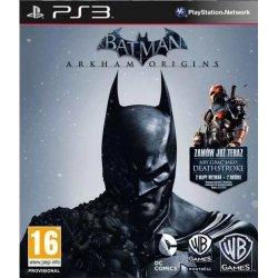 Batman arkham Origins ps3 playstation 3