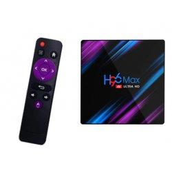 Odtwarz Multimedialny H96 MAX 4/32 GB ANDROID 9 SMART TV BOX PRZYSTAWKA