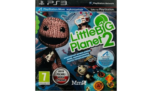 Little big planet 2 ps3 playstation 3 move
