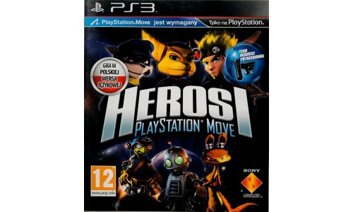 Heroes ps3 playstation 3 move