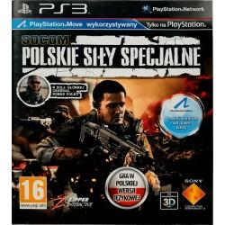 SOCOM: Polskie Siły Specjalne ps3 playstation 3 move
