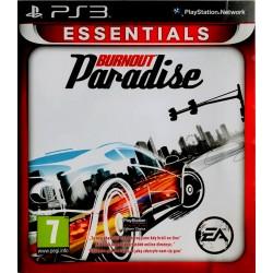 Burnout Paradise Playstation 3 ps3