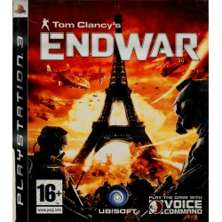 Tom Clancy's EndWar ps3 playstation 3