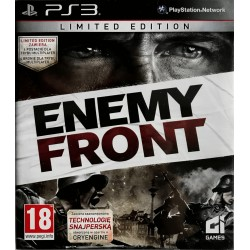 Enemy Front ps3 playstation 3